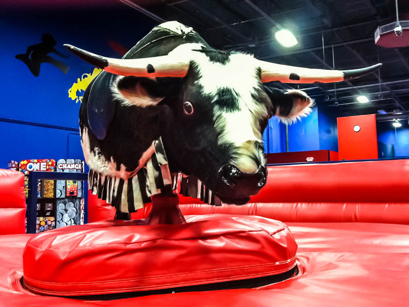Mechanical Bull Front